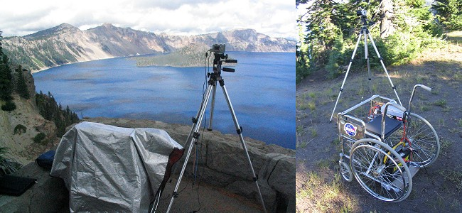 Remote Digital Time-Lapse at Crater Lake National Park